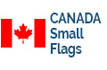 Small Canadian Flags