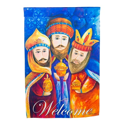 Welcome Wise Men Flag