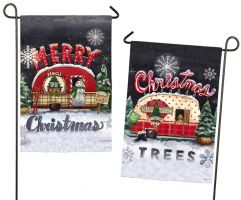 Tree Lot Plaid-Christmas and Merry Christmas