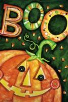 Boo Jack o lantern decorative flag