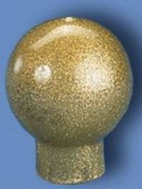 Gold Vinyl Ball Top