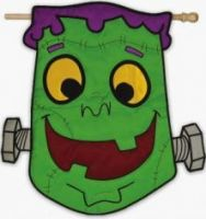 Monster Mash Garden Flag