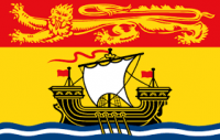 New Brunswick 36x60 flag