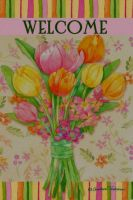 Perfect Petals Tulip Garden Flag