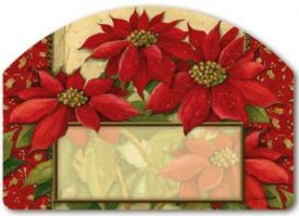 Poinsettia Yard Design