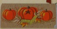 Pumpkin Berries Mail box cover