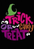 Trick or Treat Garden Flag