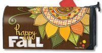 Sunflower Welcom Happy Fall Mail Wrap