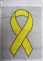 Yellow Ribbon Garden Flag